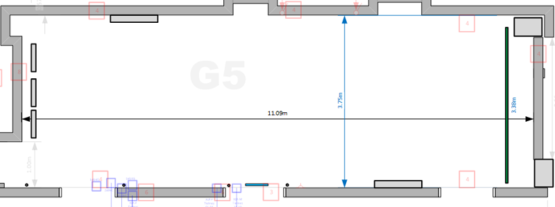 Studio G5 Floorplan